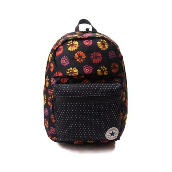 fa4351fa1e97 NWT Converse Sunflowers Polka Dots Backpack Bag